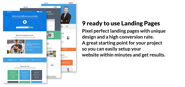 Getleads - Landing Pages Pack with Page Builder - 2